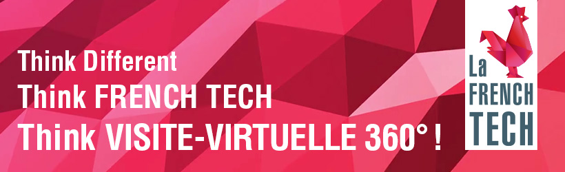 Visite virtuelle 360 label french tech