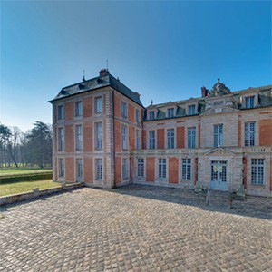 Malo et Scholla au Château de Chamarande