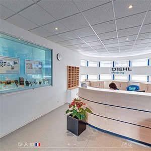 Visite virtuelle photo enrichie usine industriel diehl vignette